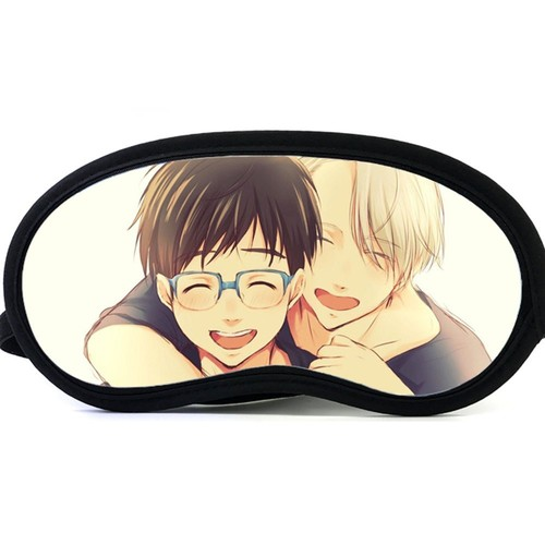 Cartoon Anime Yuri on ice Eye Mask Sleeping Eye Shade Mask Sleep Mask