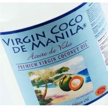 Organic 100% Virgin Coconut Oil Nutritional Supplement for Energy Fuel - 16 oz (474 ml) Direct from Manila Coco Factory