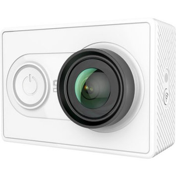 YI 16MP Action Camera with Wi-Fi, 155deg. Ultra Wide Angle Glass Lens, White