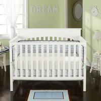 Graco by LaJobi Lauren Convertible Crib - Classic White