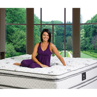 Wolf Tranquility Euro Top Wrapped Coil with Visco Foam Mattress
