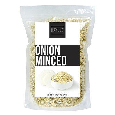 1.5 Pound Premium Quality Dehydrated Onion Minced