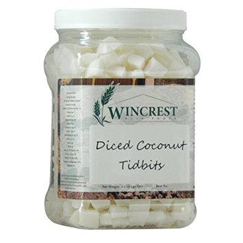 Diced Coconut Tidbits - 15mm - 2.5 Lb Economy Size Tub