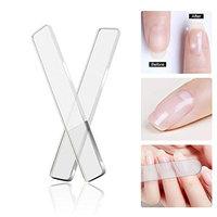 Nano Glass Nail Files Crystal Nail Shiner Manicure Pedicure Nail Care Magic Fingernail file Tools with Smooth Polish Nail file Buffer