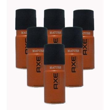 Axe Deodorant Body Spray, Mature, 4 Ounces (Pack of 6)