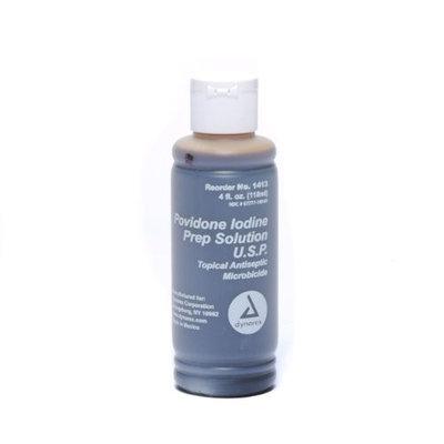 Pvp Povidone Iodine Disinfecting Solution 4 oz