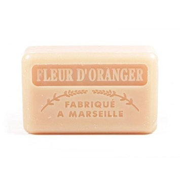 Foufour 125G Savon De Marseille Soap - Orange Flowers (Fleur De Orange)