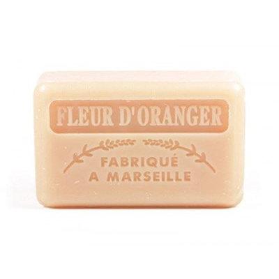 Foufour 125G Savon De Marseille Soap - Orange Flowers (Fleur De Orange)