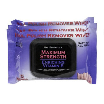 Specialty Products, Llc Nail Essentials Nail Polish Remover Wipes - Vitamin E 3 Pack
