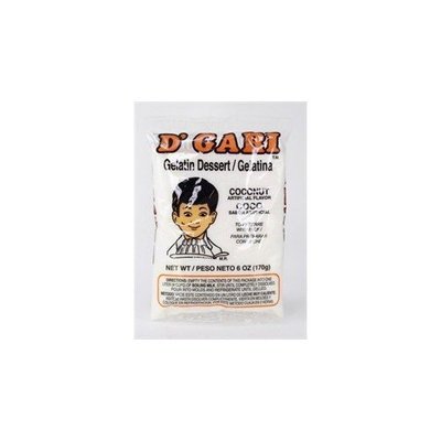 D'gari Coconut Gelatin 6 Oz