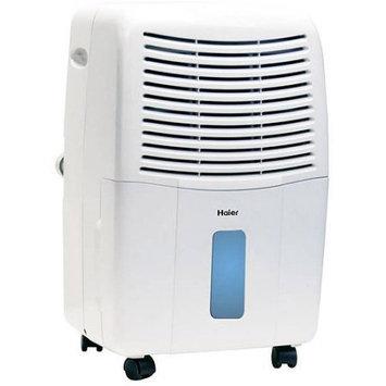 Haier 45-Pint Dehumidifier for Basements w/Drain, White, DE45EM-L