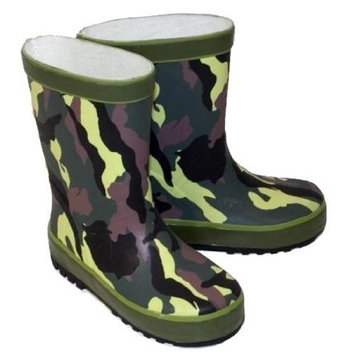 Kids Infant Child CAMOUFLAGE Funky wellies Wi10 UK7