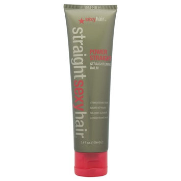 Straight Sexy Hair Power Straight Straightening Balm by Sexy Hair for Unisex - 1 oz Balm