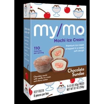 Mymo Mochi Ice Cream Chocololate Sundae