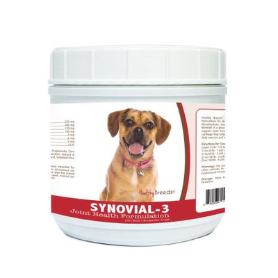 Healthy Breeds 840235121091 Puggle Synovial-3 Joint Health Formulation - 120 Count