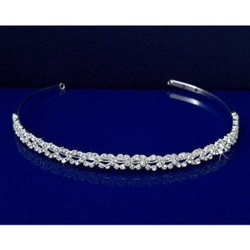 Flower Girl Tiara Headband 44776 by SparklyCrystal