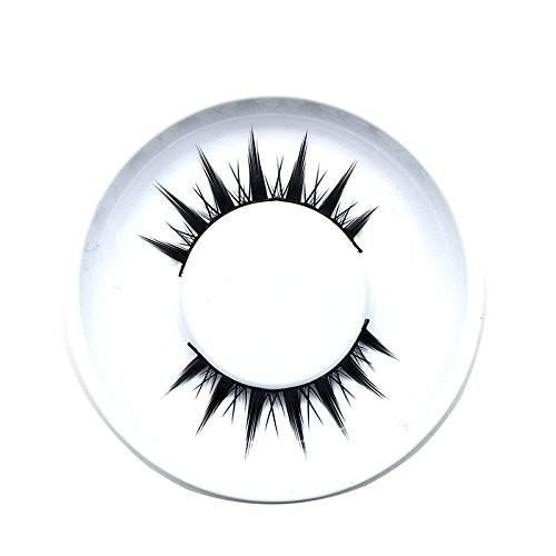 ISALI 1 pair 3D Cross Black Mink Natural False Eyelashes - (NO.: 01)