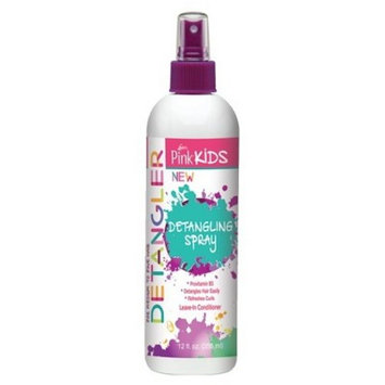 Luster's Pink Kids Detangle Spray - 12 fl oz