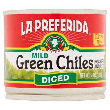 LA PREFERIDA 268531 CHILES GREEN DICED - 7 oz.