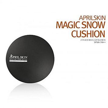 April Skin Magic Snow Cushion SPF50+ / PA+++ (15g) #21 Light Beige, APM03-Cushion21