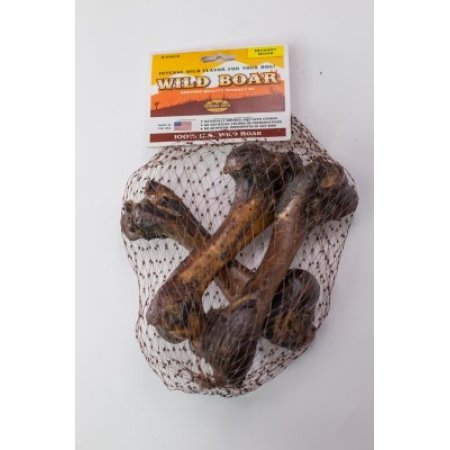 Venison Joe's Smoked Boar Bone 3 pack (6-8 inch each)
