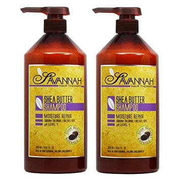 Savannah Shea Butter Shampoo 33.8oz / 1000ml