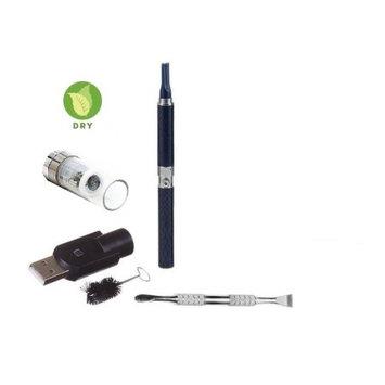 Zebra Smoke Z-Star Dry Herb Vape Pen E-Cigarette Electronic Cigarette Vaporizer For Dry Herbs 650 mah Battery Vaporizer Pen Kit (Black)