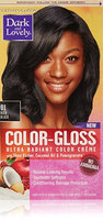 Dark and Lovely Color-Gloss Ultra Radiant Color Creme, Rich Black 1.0 ea(pack of 3)