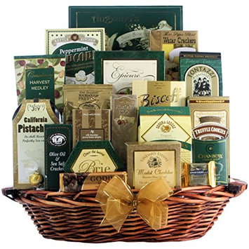 Great Arrivals Champagne Gift Basket, The Gourmet Sophisticate [The Gourmet Sophisticate]