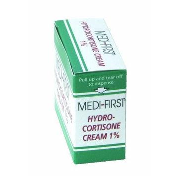 Medi-First 21173 Hydrocortisone Cream, 25 Packets Per Box