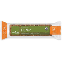 Navitas Organics Gluten Free Superfood Snack Bar, Hemp Peanut, 1.4 Ounce