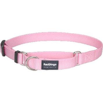 Red Dingo MC-ZZ-PK-ME Martingale Dog Collar Classic Pink Medium