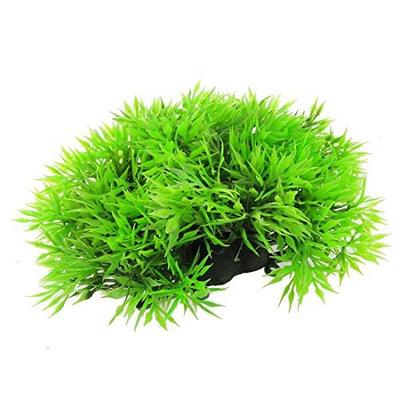 SODIAL(R) Fish Tank Emulational Underwater Plant Grass, Green
