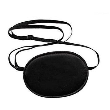 Adult Eye Patch-Adjustable Soft and Comfortable Silk Eye Patch Single Eye Mask for Amblyopia Lazy Eye