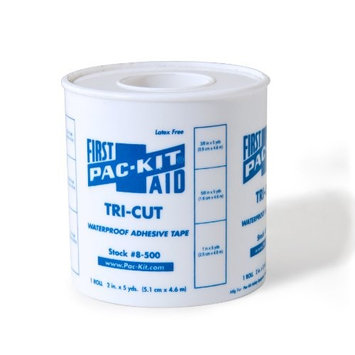 Medique Products 61101 Tri- Cut Adhesive Waterproof Tape, 5-Yards
