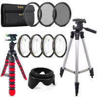 Teds 58mm Macro, UV CPL ND and Tripods For Canon EOS 70D 700D 1200D 1300D