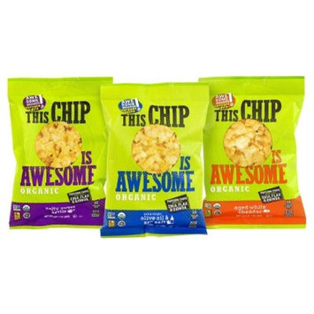 This Chip Is Awesome Organic Popcorn Chips Variety Pack - 1 oz - 4 ct