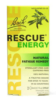 Bach 0866640 Flower Remedies Rescue Energy - 0.7 fl oz
