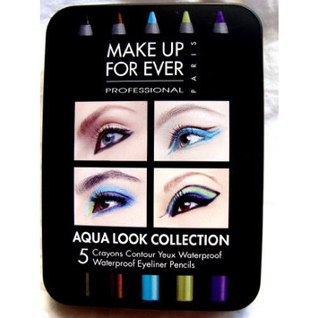 Award-winning Make up for Ever Aqua Eyes 5 Pencils Eyeliner Pencil Set