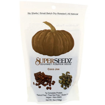 SuperSeedz, Gourmet Pumpkin Seeds, Coco Joe, 5 oz (142 g) [Flavor : Coco Joe]