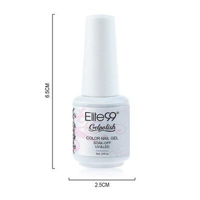Elite99 Gelpolish Soak-off Gel Nail Polish UV LED Nail Art Camellia Rose 8ml 1542