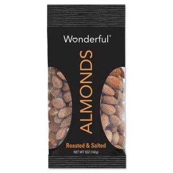 Paramount Farms Inc. Paramount Farms Wonderful Almonds, Dry Roasted & Salted, 5 oz, 8/Box