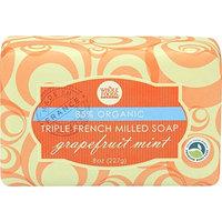 Whole Foods Market, Grapefruit Mint Organic Triple French Milled Soap, 8 oz