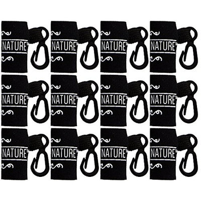 12 Pack Lip Balm Holder by Naturistick - Clip-On Convenient Holster for Key Chains, Purses, Backpacks, and Ski Jackets - Durable Weather-Proof Neoprene Sleeves - Made in USA