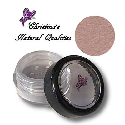 Christina's Natural Qualities All Natural Mineral Powder Shimmer Plum Eye Color (Eyeshadow) - Plum Ice
