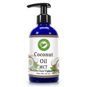 Fractionated Coconut Oil - MCT OIL from Coconut - Aceite de coco fraccionado, MCT -16 OZ- 100% Pure