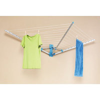 Hold N Storage Wall Mount Drying Rack 7242-3062-BB by Whitmor - Clothes Drying