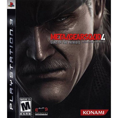 Microsoft Corp. Metal Gear Solid 4: Guns of the Patriots - Limited Edition (PS3) - Pre-Owned