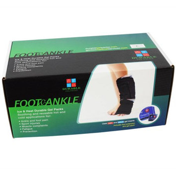 Durable Gel Packs Hot and Cold Body Contouring Gel Pack for Foot and Ankle