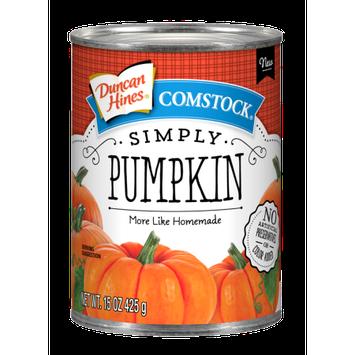 Pinnacle Foods Group, Llc Duncan Hines Comstock Simply Pumpkin
